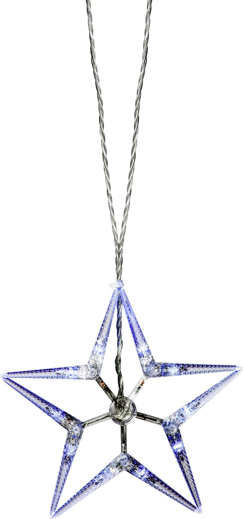 Venkovní LED řetěz Polarlite PNL-01-003, 80 LED, do sítě, hvězda