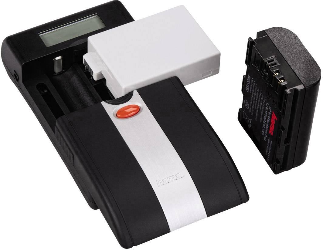 Nabíječka pro kamery Delta Ovum LCD Hama 00081380 Vhodný akumulátor Li-Ion, NiMH
