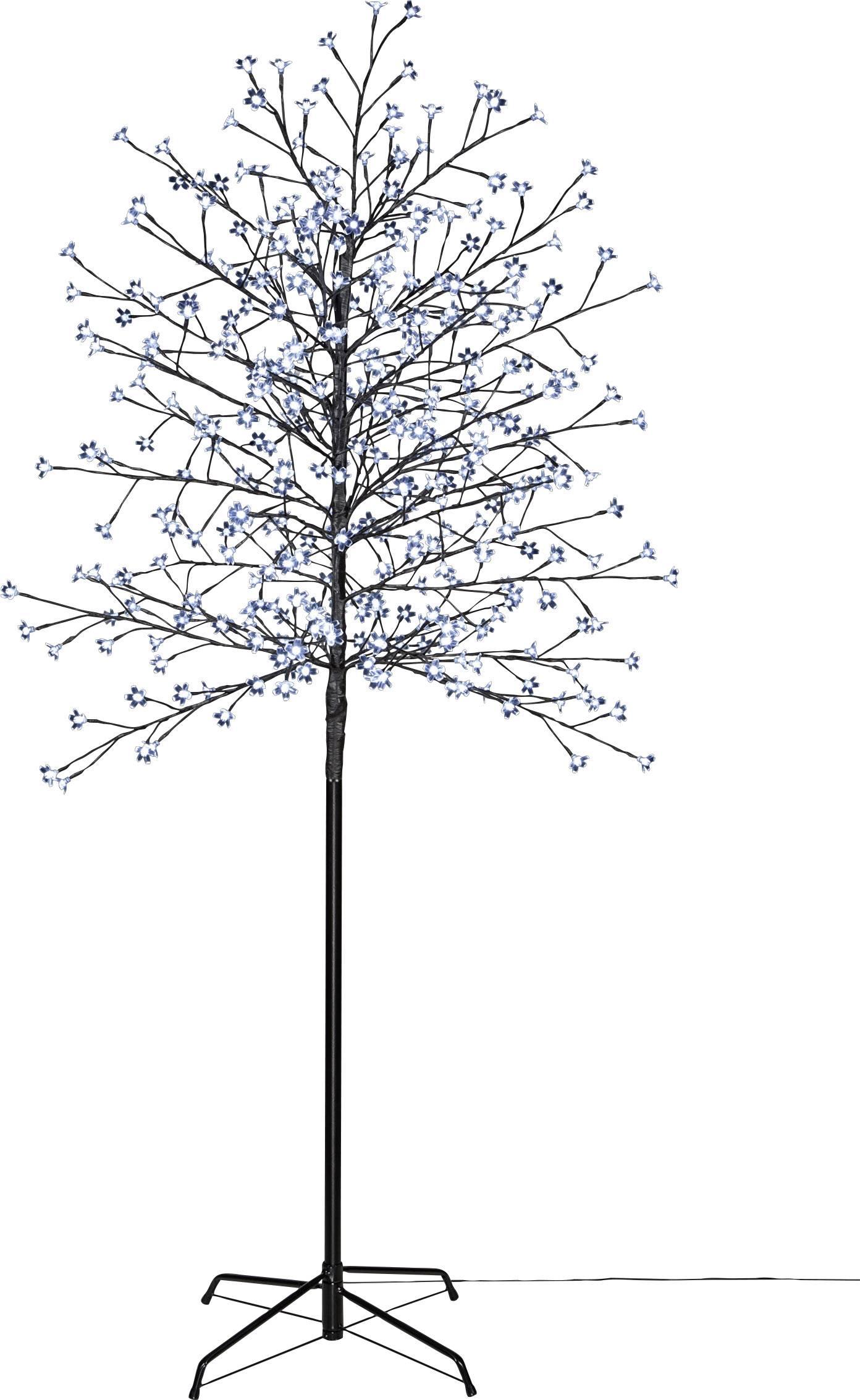 Venkovní LED strom Polarlite PCA-03-003, do sítě, hnědá, studená bílá