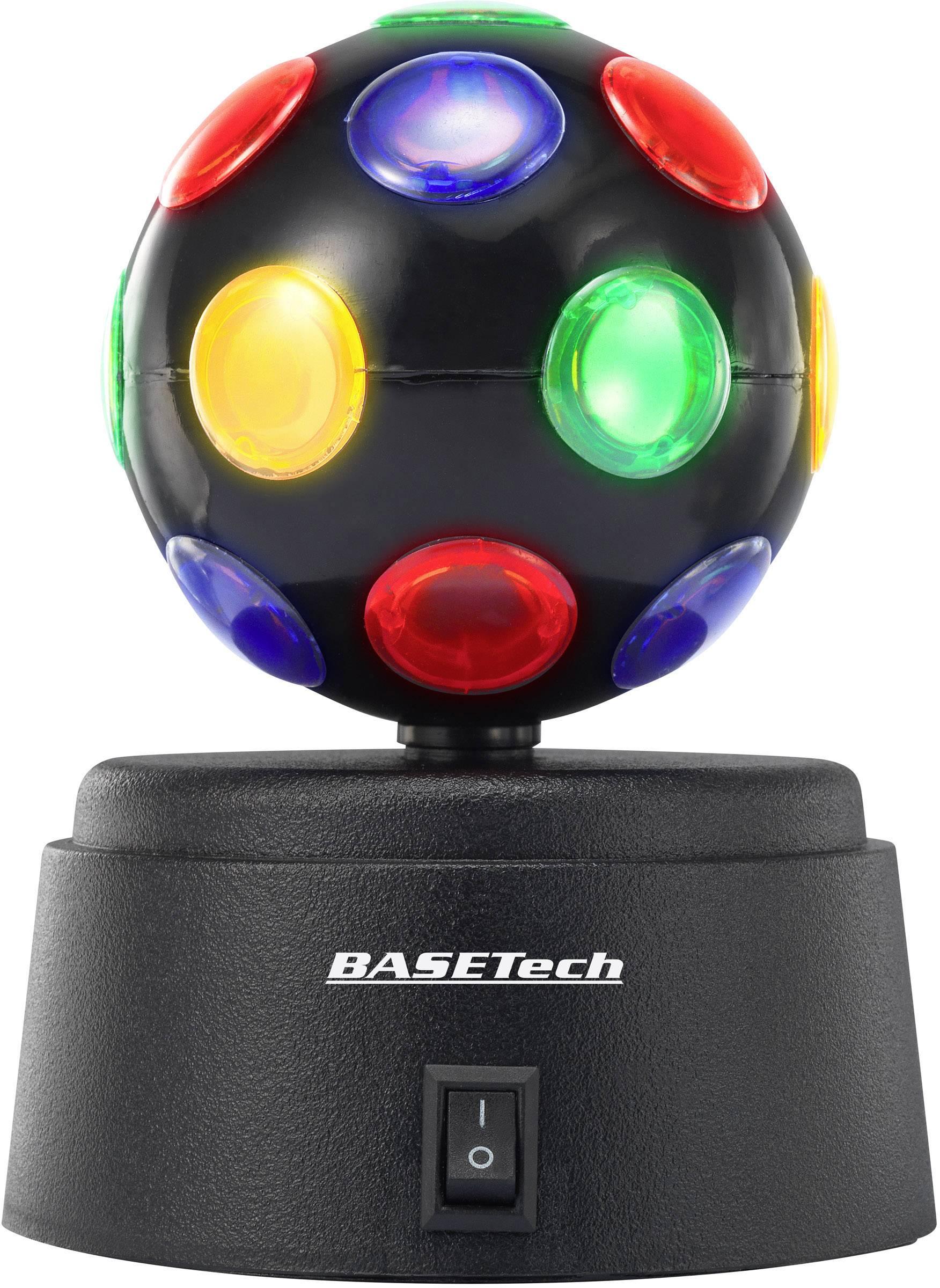 Diskotéková koule Basetech 1362733 černá