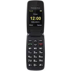 Primo by DORO 401 telefon pro seniory - véčko černá