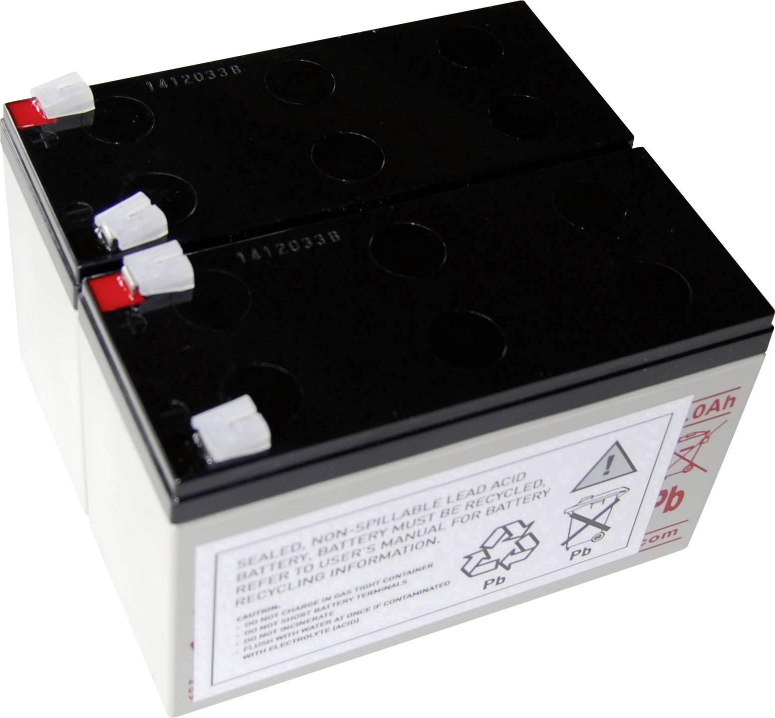 Náhradní akumulátor pro záložní zdroje (UPS) Conrad energy, vhodný pro Protect B 750