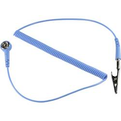ESD uzemňovací kábel TRU COMPONENTS SpKL-4-183-SK, 1.83 m