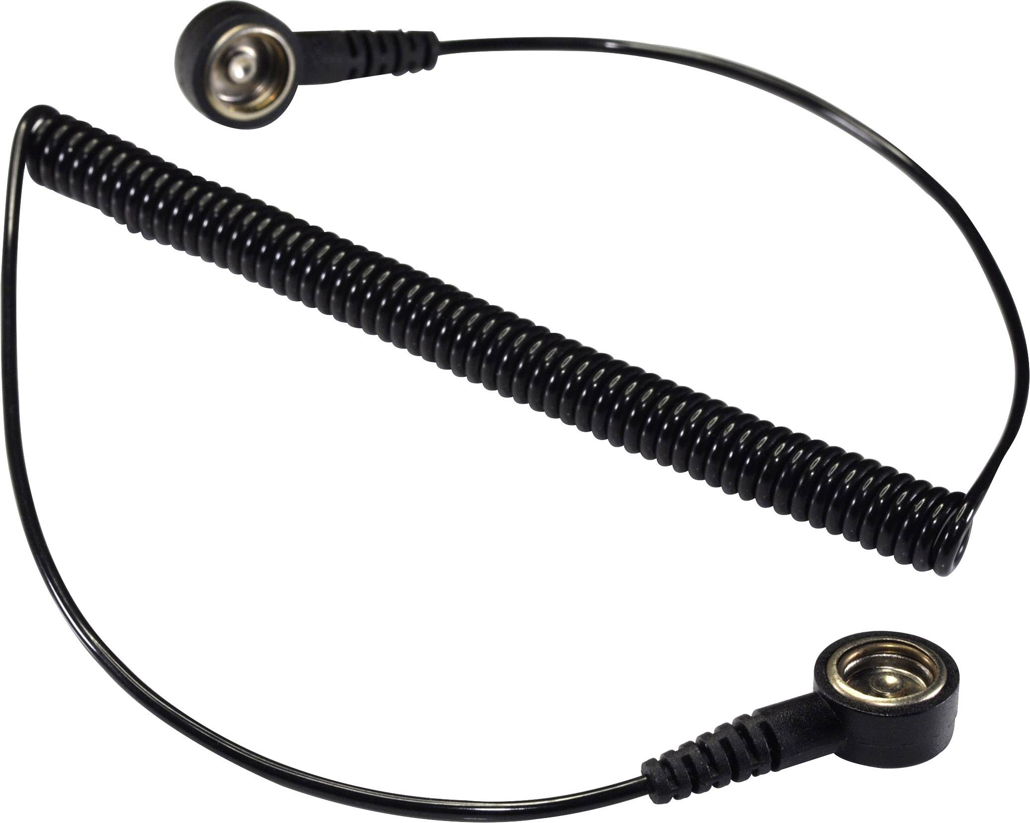 ESD uzemňovací kábel Conrad Components SpKL-10-366-KK, 3.66 m