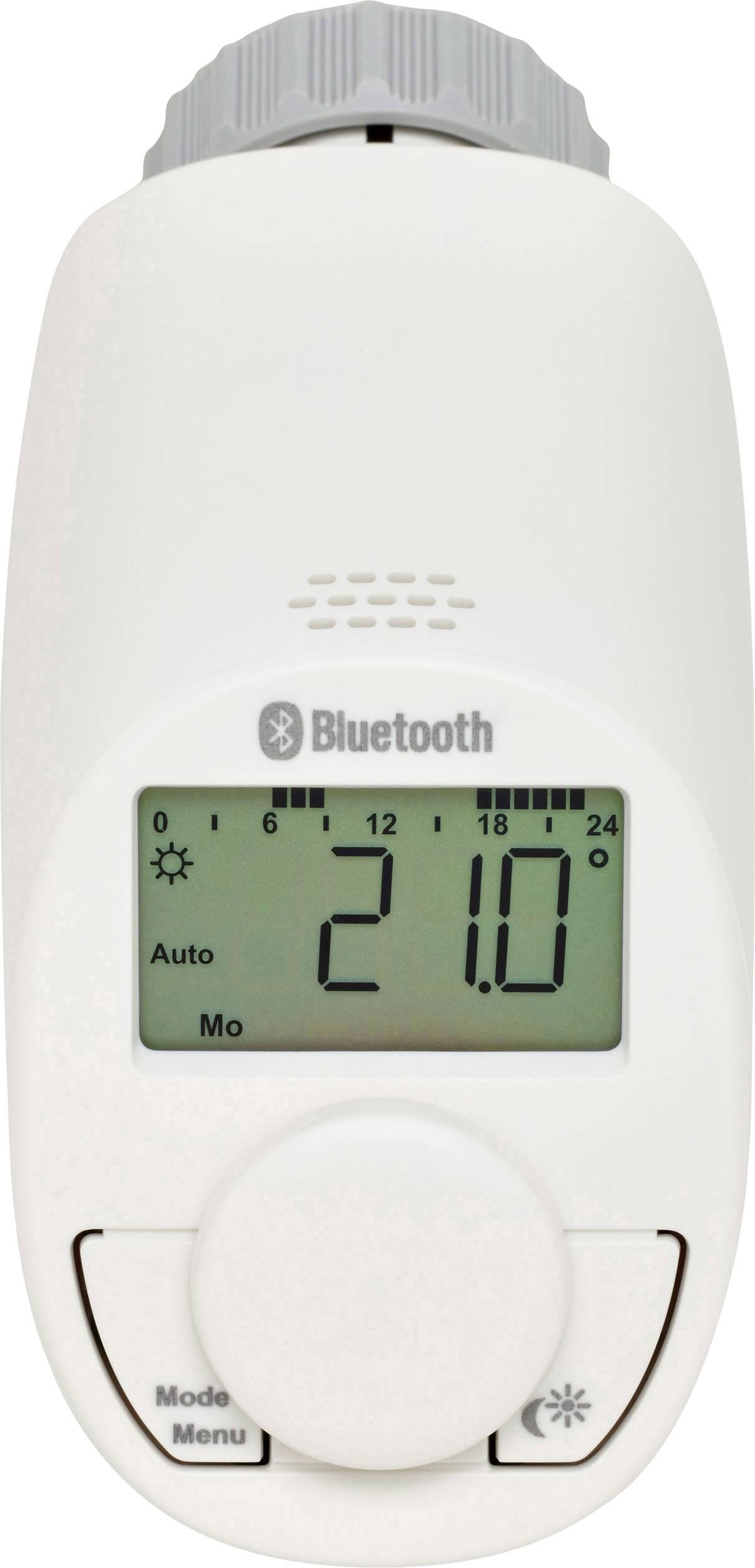 Bezdrátová termostatická hlavice ovládaná přes smartphone eqiva CC-RT-BLE-EQ