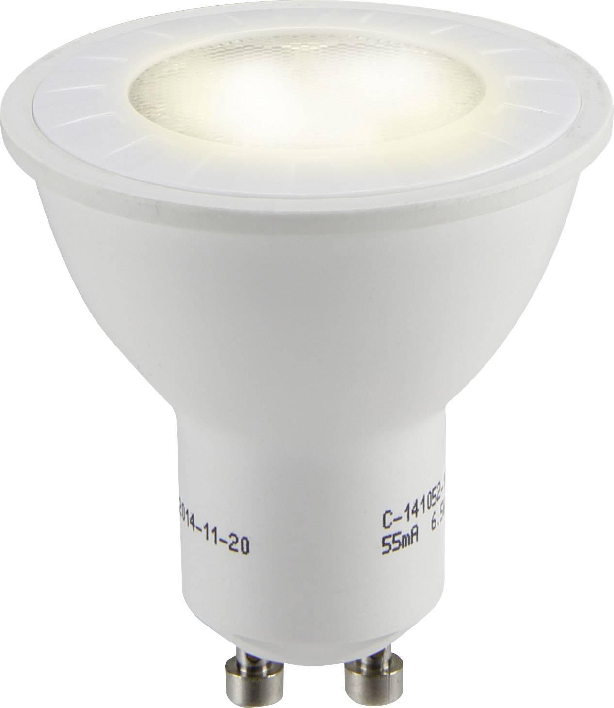 LED žiarovka Sygonix 1364921 230 V, 6.5 W = 50 W, teplá biela, A+, 1 ks
