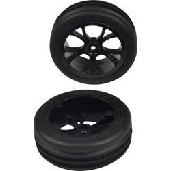Kompletné kolesá drážkované pneumatiky Reely 1202243 pre buggy, 82 mm, 1:10, 1 pár, čierna