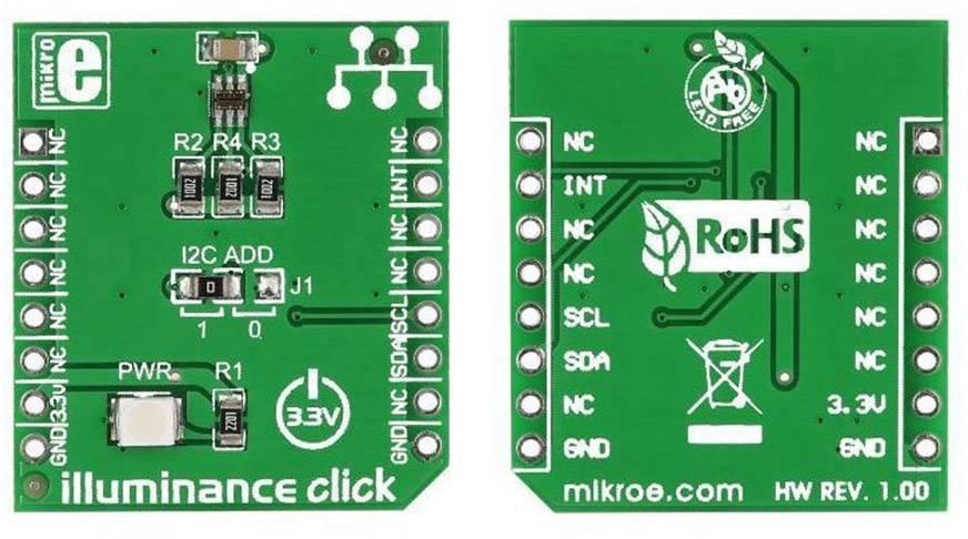 Vývojová doska MikroElektronika MIKROE-1688