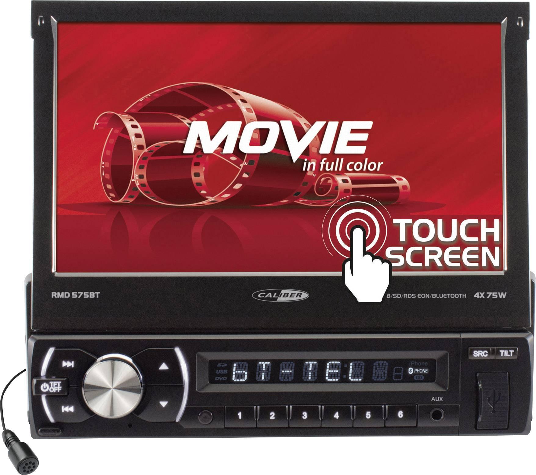 Multimediálny prehrávač Caliber Audio Technology RMD-575BT, s Bluetooth
