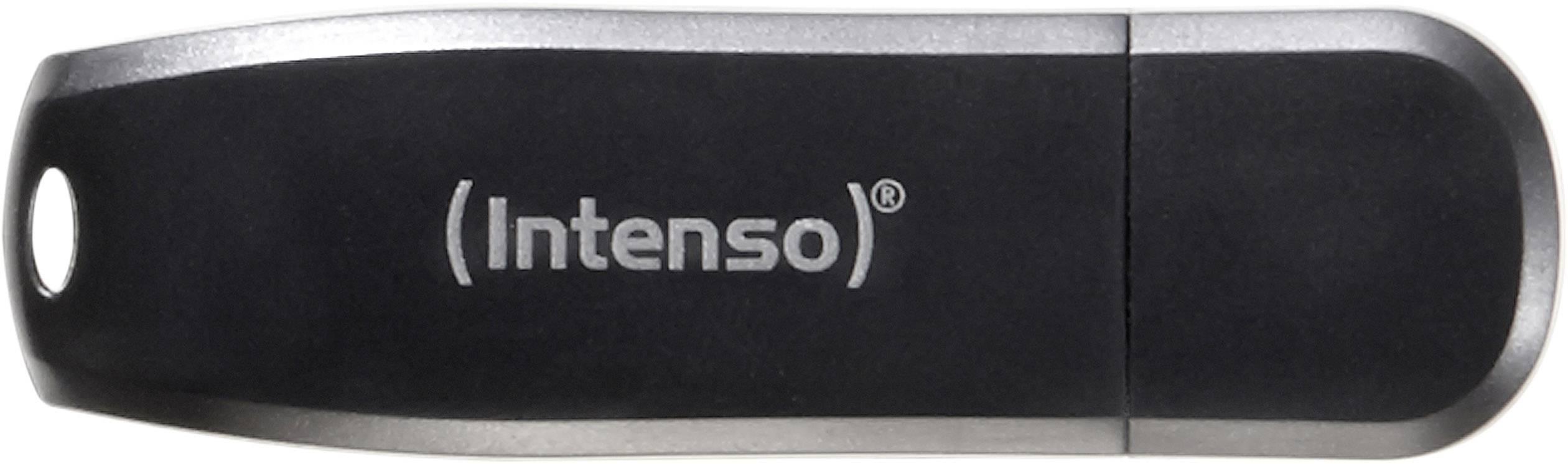 USB flash disk Intenso Speed Line 3533470, 16 GB, USB 3.0, černá