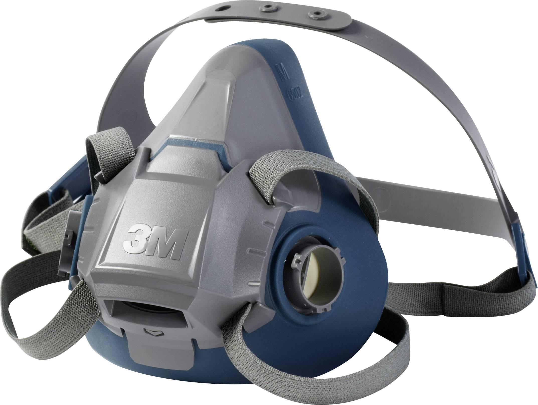 Ochranná maska poloobličejová 3M 6503 70071668126, bez filtru, vel. L