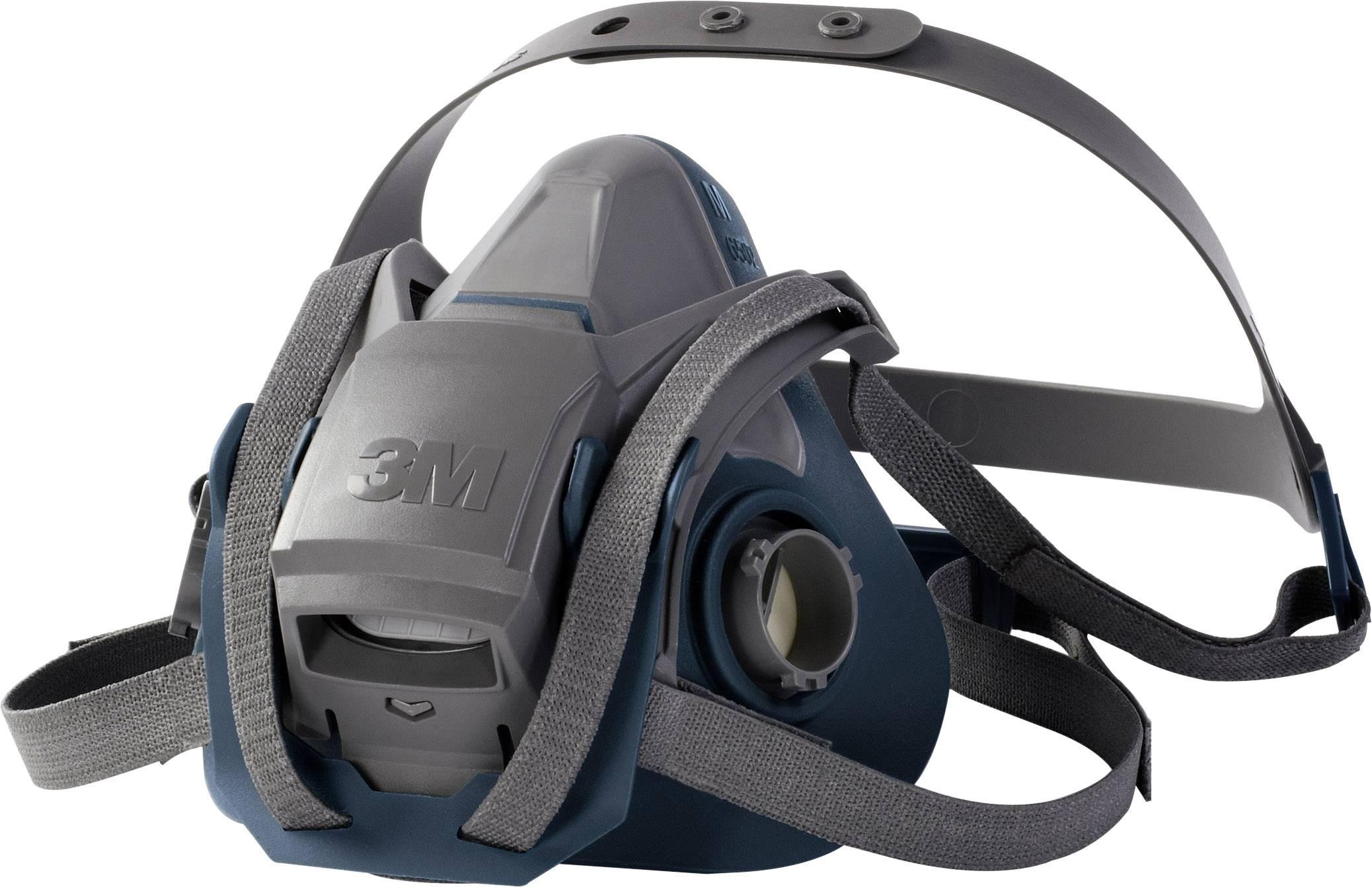 Ochranná maska poloobličejová 3M 6503 QL 70071668159, bez filtru, vel. L