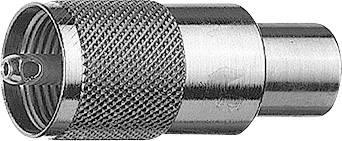 UHF konektor zástrčka, rovná Telegärtner J01040A0604 J01040A0604, 50 Ohm, 1 ks