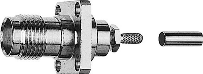 TNC konektor Telegärtner J01011B0046 – zásuvka, vestavná, 2.70 mm, 50 Ohm, 1 ks