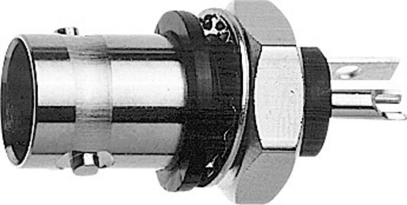 BNC konektor zásuvka, vstavateľná Telegärtner J01001B0043, 50 Ohm, 1 ks