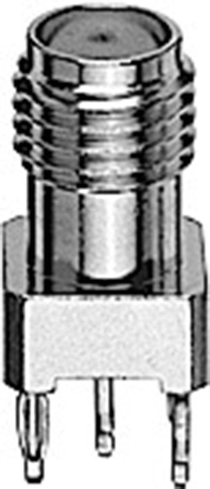 SMA konektor Telegärtner J01151A0331 – zásuvka, vestavná vertikální, 50 Ohm, 1 ks