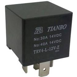 Relé motorového vozidla Tianbo Electronics, 12 V/DC 1 přepínací kontakt