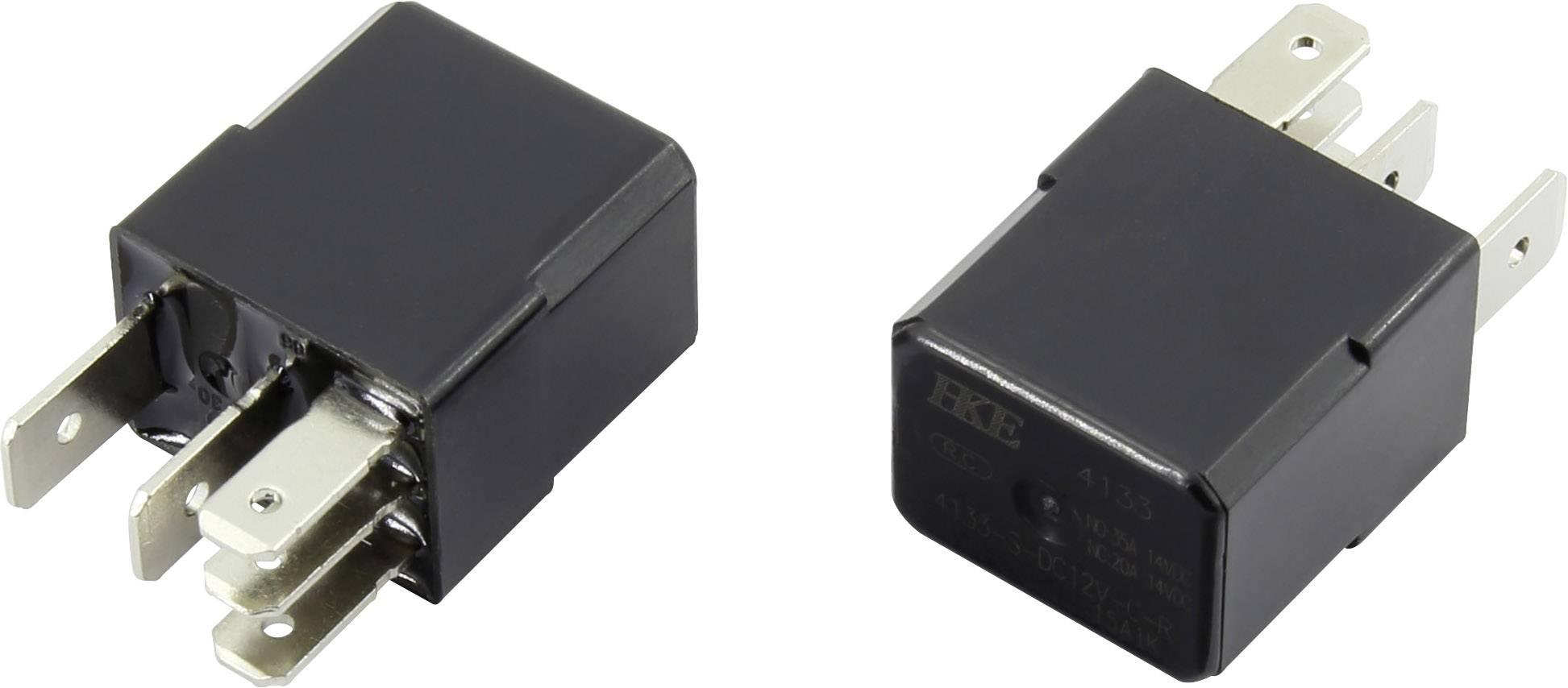 Relé pro automotiv HKE, 12 V/DC, 35 A, 1 přepínací kontakt
