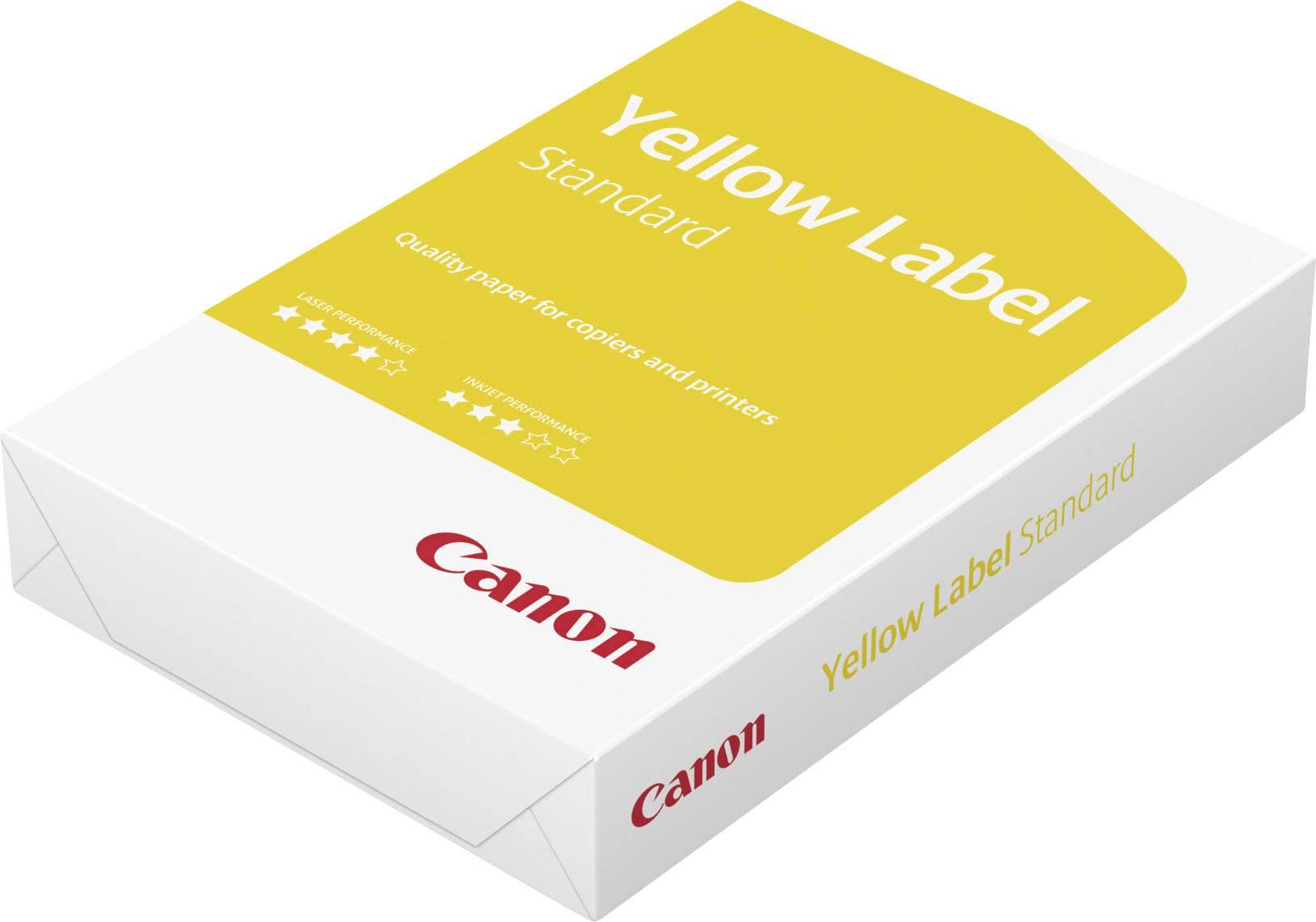 Univerzální papír do tiskárny Canon Yellow Label Standard, 96600554 A4, 80 gm², 500 listů