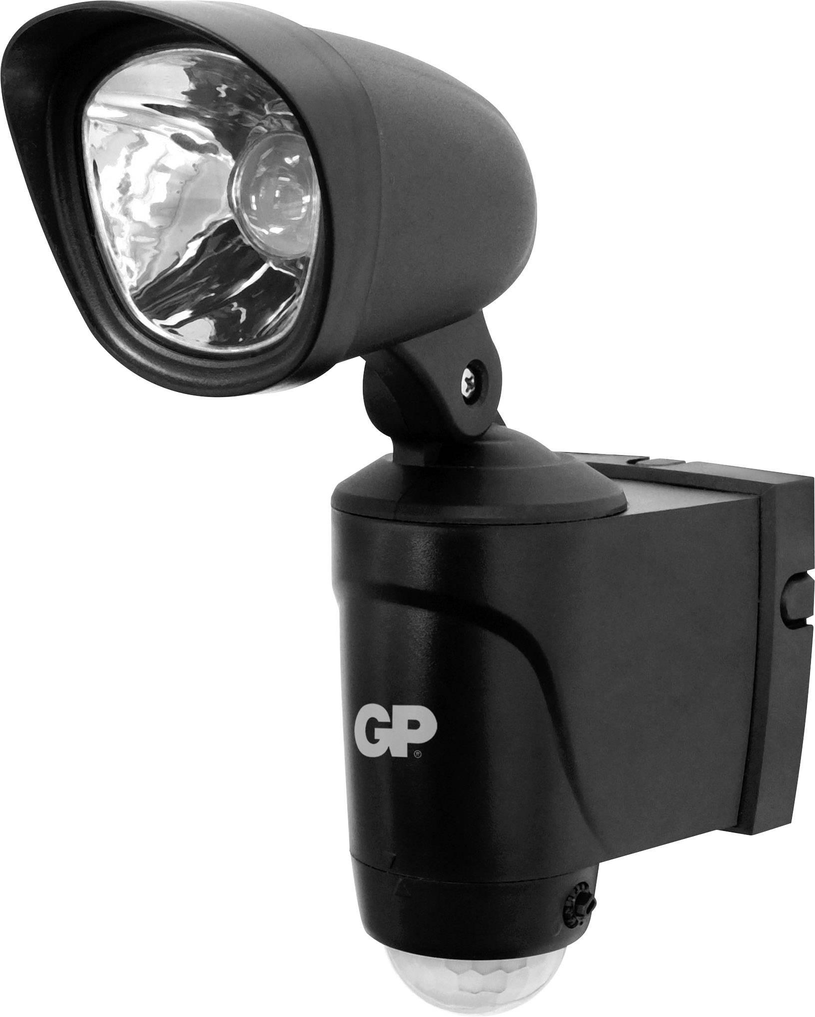 LEDvonkajšieosvetlenie s PIR senzorom 3 W GP Lighting RF3 810SAFEGUARD3.1 čierna