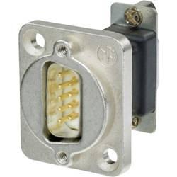 D-SUB adaptér Neutrik NADB9FF, D-SUB zásuvka 9pólová - D-SUB zásuvka 9pólová, 1 ks