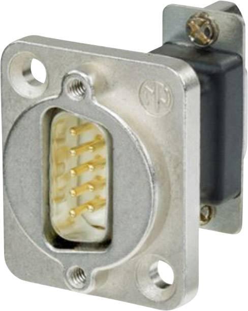 D-SUB adaptér Neutrik NADB9FF, počet pinov 9, 1 ks