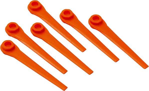 Náhradní nůž GARDENA 5368-20 Vhodný pro: Gardena EasyCut Li-18/23R, Gardena ComfortCut Li-18/23R, Gardena AccuCat 400 Li, Gardena AccuCat 450 Li