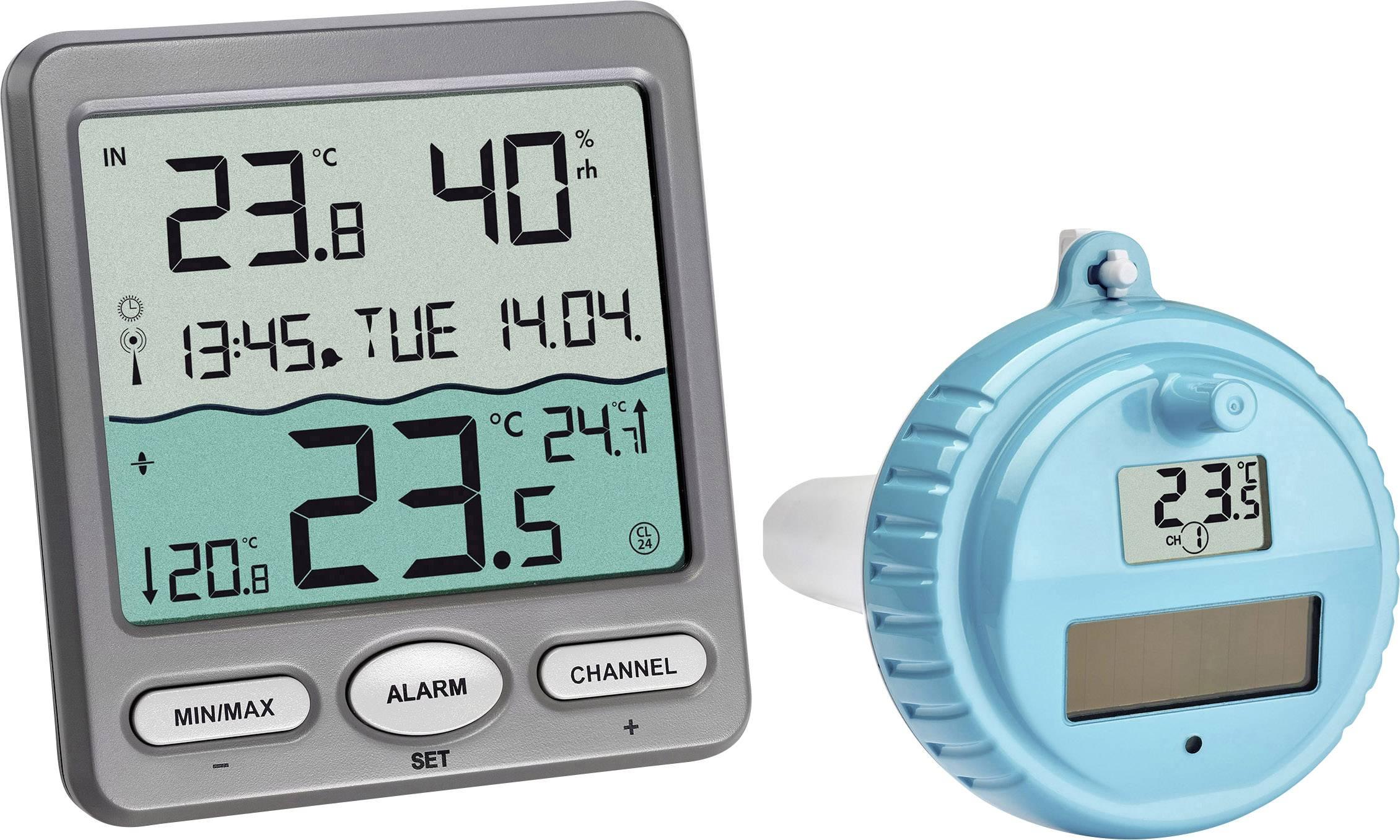 připojte měřič teploty vody