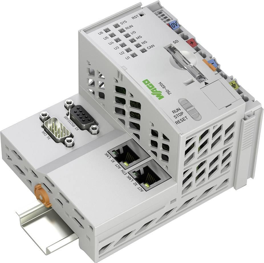 Kontrolér pro PLC WAGO 750-8204 PFC200 2ETH RS CAN, 24 V/DC