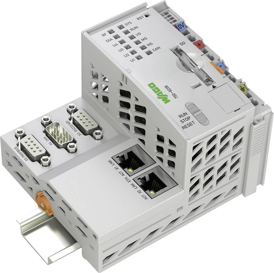 Kontrolér pro PLC WAGO PFC200 2ETH RS CAN DPS 24 V/DC