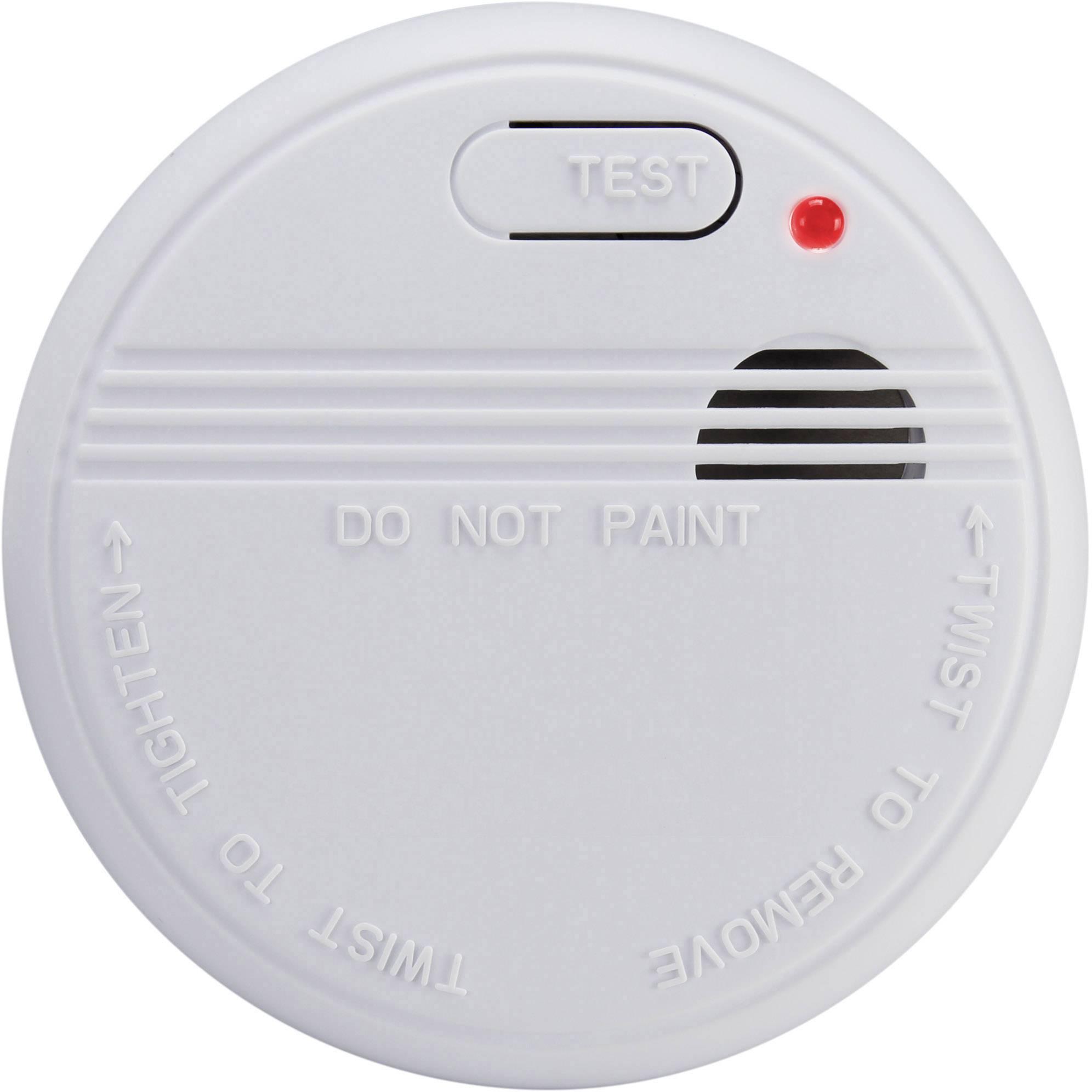 Detektor kouře Basetech na baterii