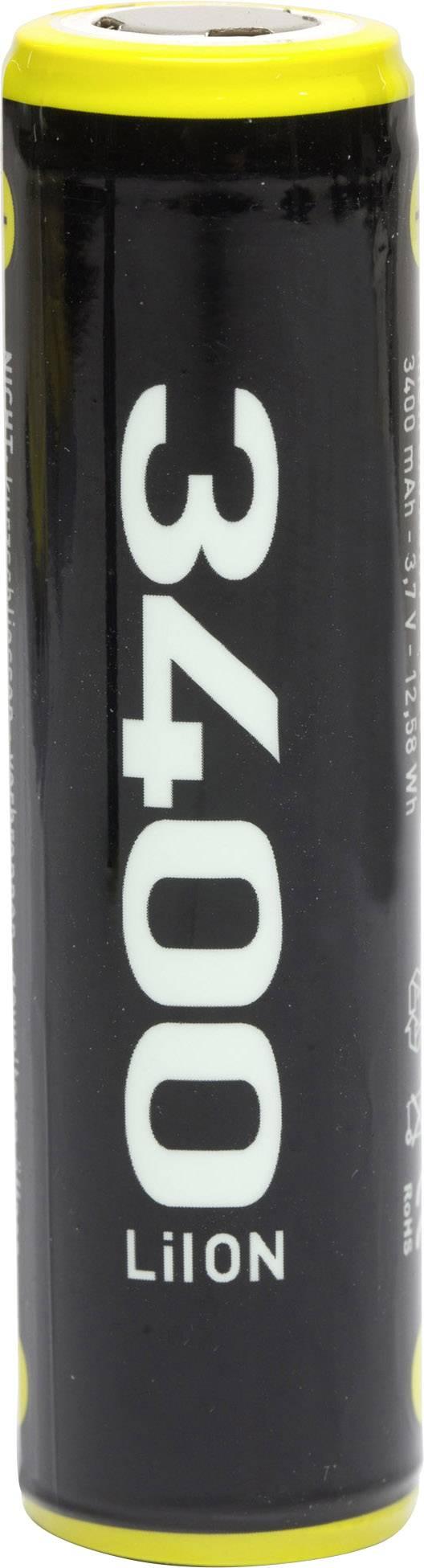 Speciální akumulátor ECELL ECE18650, 18650, Li-Ion akumulátor, 3.7 V, 3400 mAh