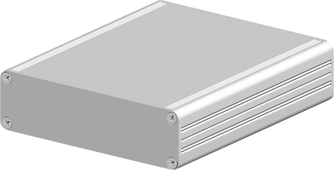 Profilové pouzdro Fischer Elektronik AKG 105 30 160 ME 10023242, 160 x 105 x 30 , hliník, přírodní, 1 ks