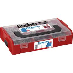 532892 FIXtainer - SX-Dubel-Box Množství 210 díly 06 Rozsah dodávky 120x hmoždinka SX 6 · 60x hmoždinky SX 8 · 30x hmoždinky SX10.