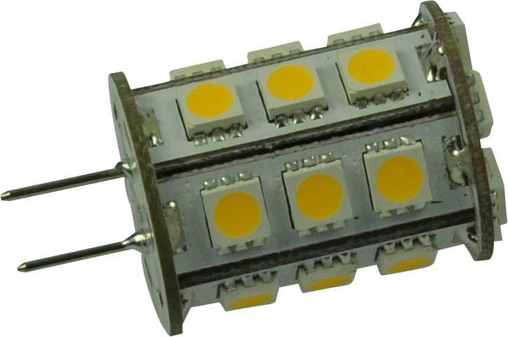 LED DioDor 12 V, GY6.35, 2.6 W = 30 W, 40.7 mm, teplá bílá, A+ stmívatelná, 1 ks