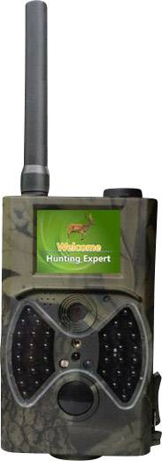 Fotopasca Denver WCM-5003MK2, čierne LED diódy, GSM modul, nahrávanie zvuku, maskáčová zelená
