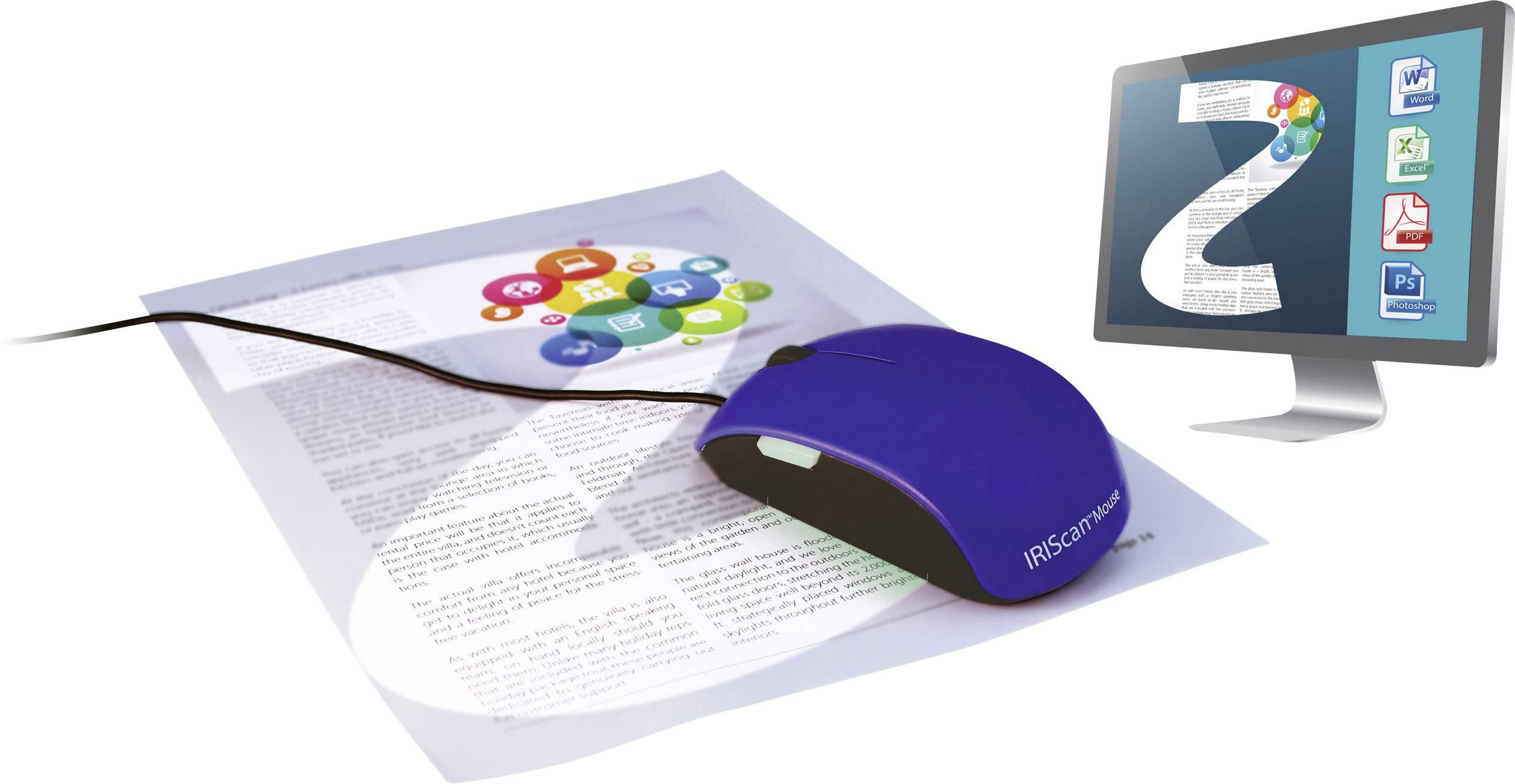 Počítačová myš se zabudovaným skenerem IRIS by Canon IRIScan™ Mouse 2, A3, USB