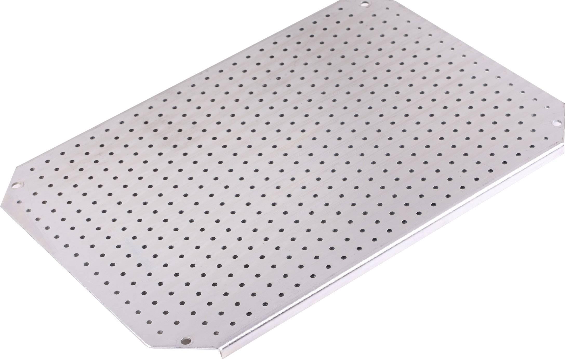 Montážní deska Fibox ARCA MPMP ARCA 4030, (d x š) 350 mm x 250 mm, ocelový plech 1 ks