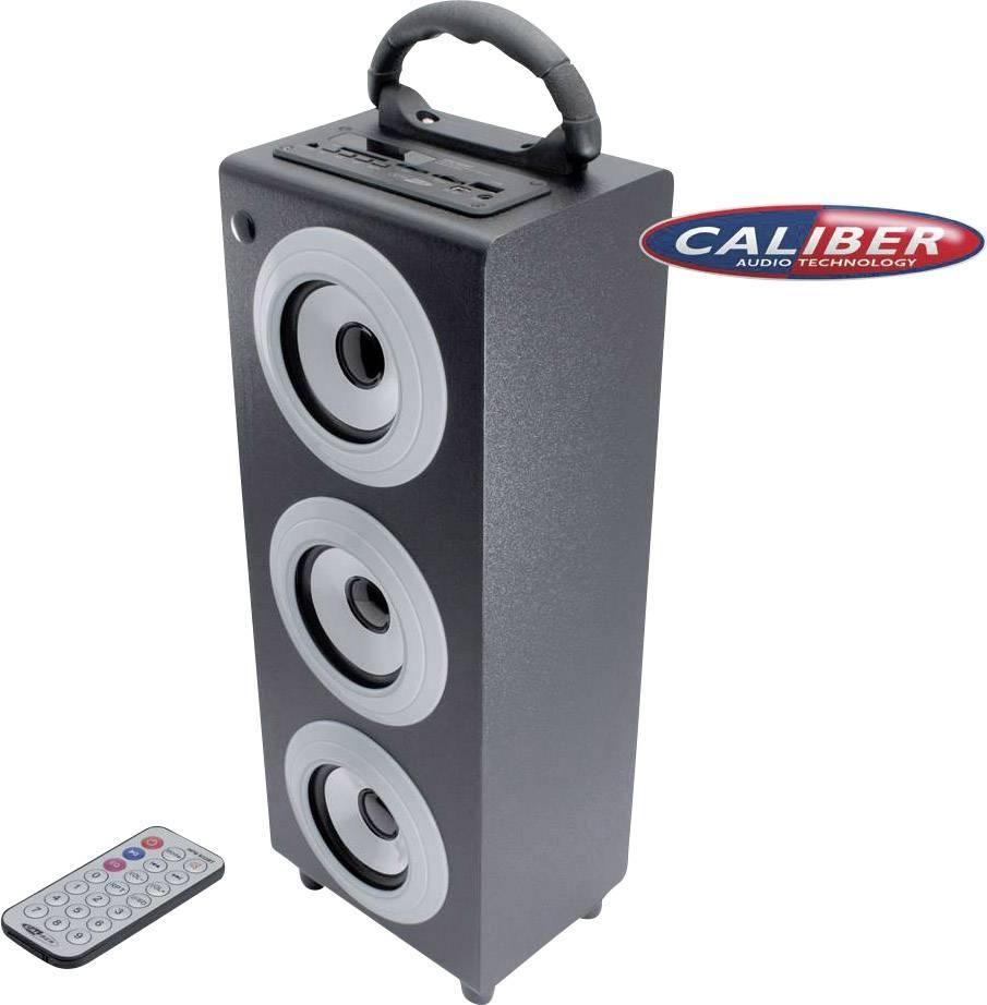 Přenosný Bluetooth reprobox CALIBER HPG, dálkový ovladač, černá