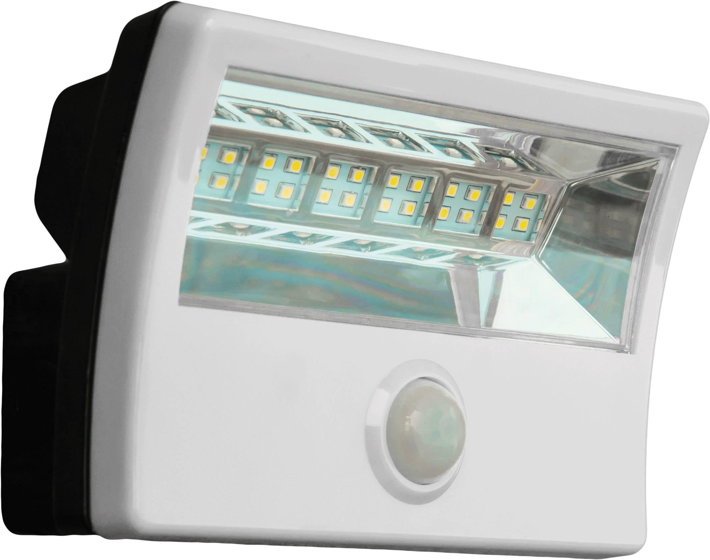 Solárne bodové osvetlenie DioDor DIO-FL16W-WM-SP-W 16 W, studená biela, biela