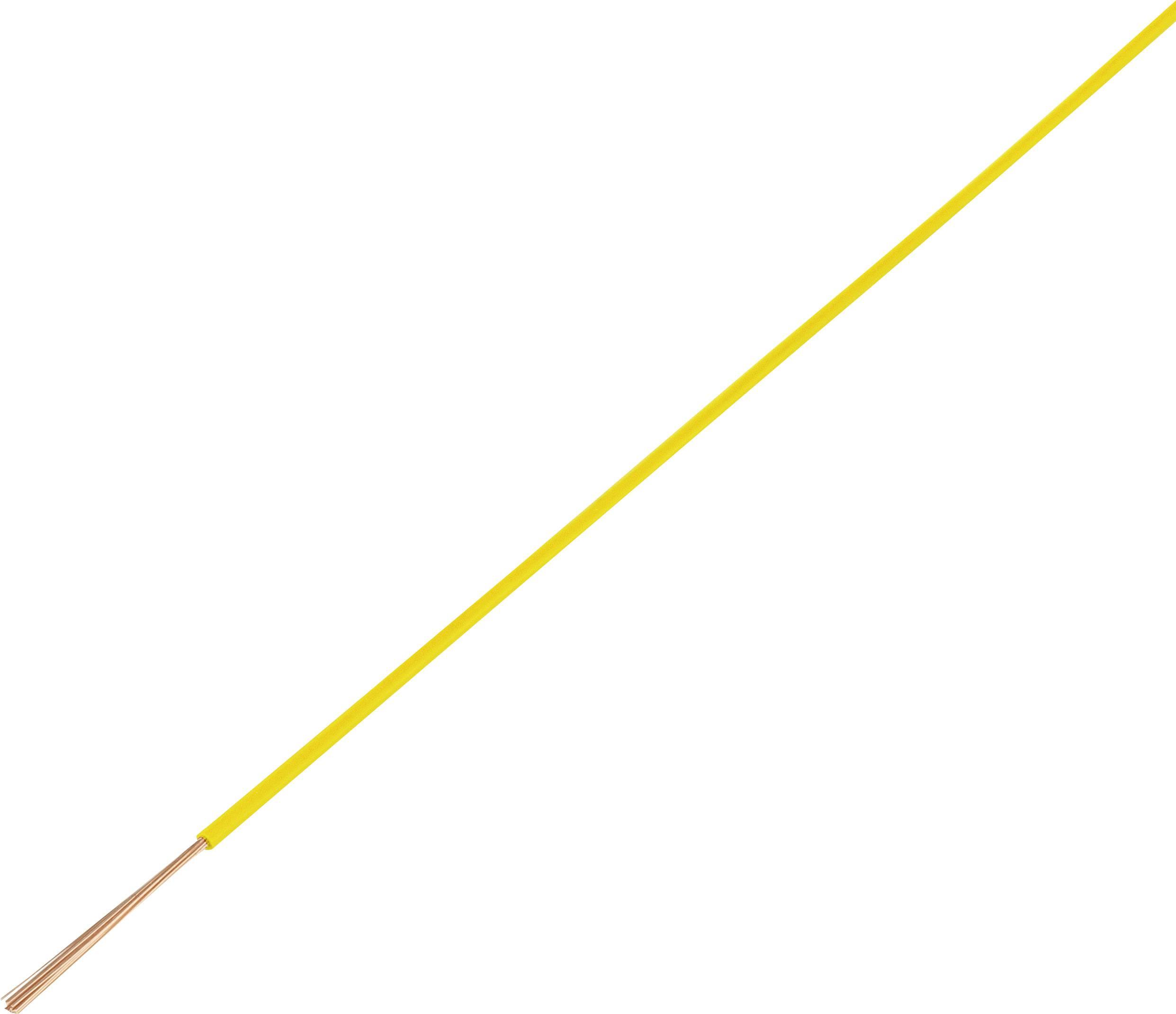 Vedenie vo vozidlách Conrad Components 1370953 FLRY-A, 1 x 0.75 mm², vonkajší Ø 1.90 mm, 50 m, červená