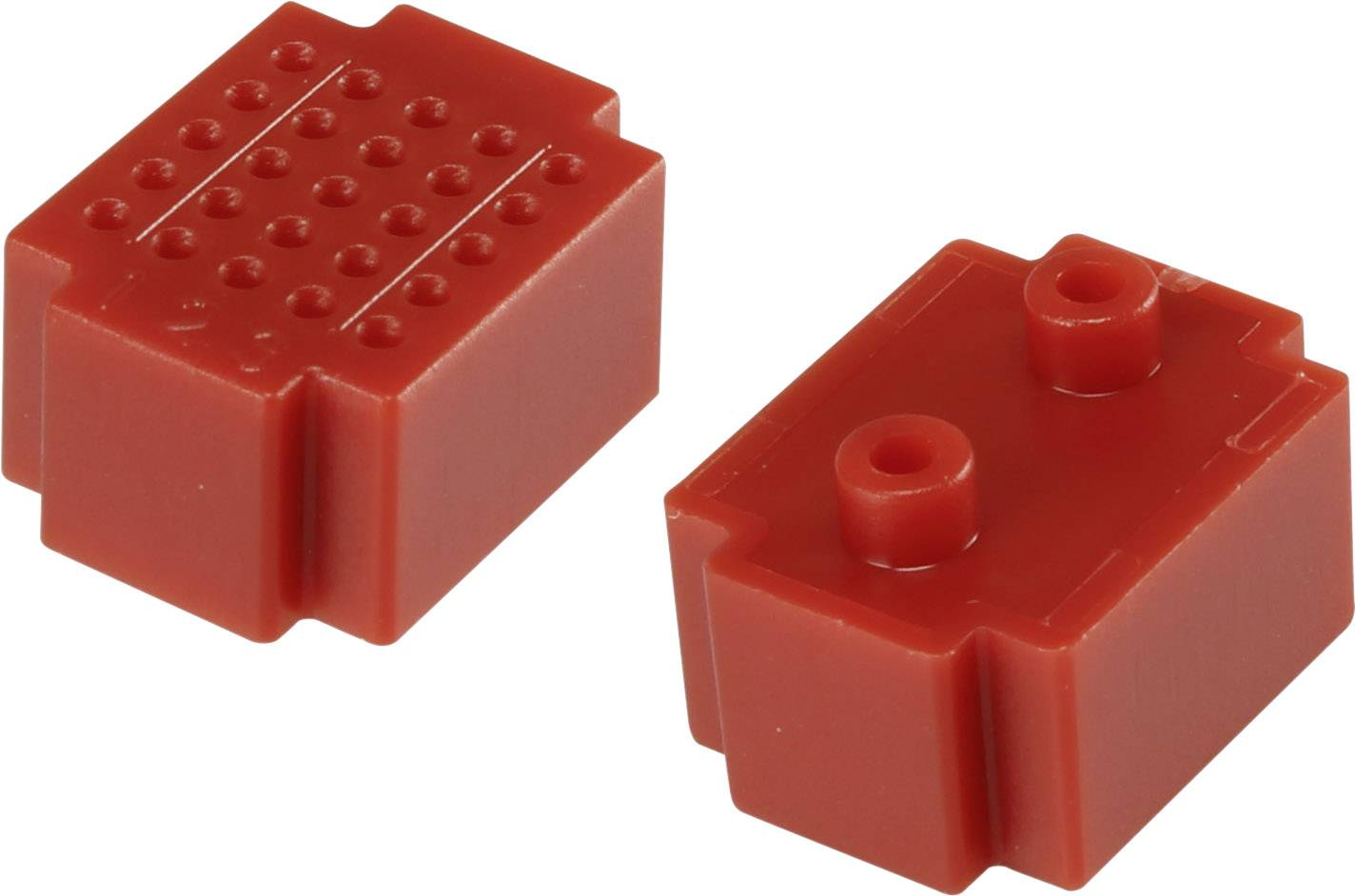 Nepájivé kontaktní pole Conrad Components červená, Počet pólů 25, (d x š) 20 mm x 15 mm, 1 ks