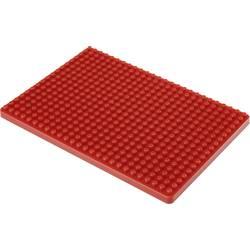 Montážní deska pro nepájivé kontaktní pole Conrad Components červená, Počet pólů 468, (d x š) 132 mm x 92 mm, 1 ks