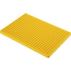 Montážní deska pro nepájivé kontaktní pole Conrad Components žlutá, Počet pólů 468, (d x š) 132 mm x 92 mm, 1 ks