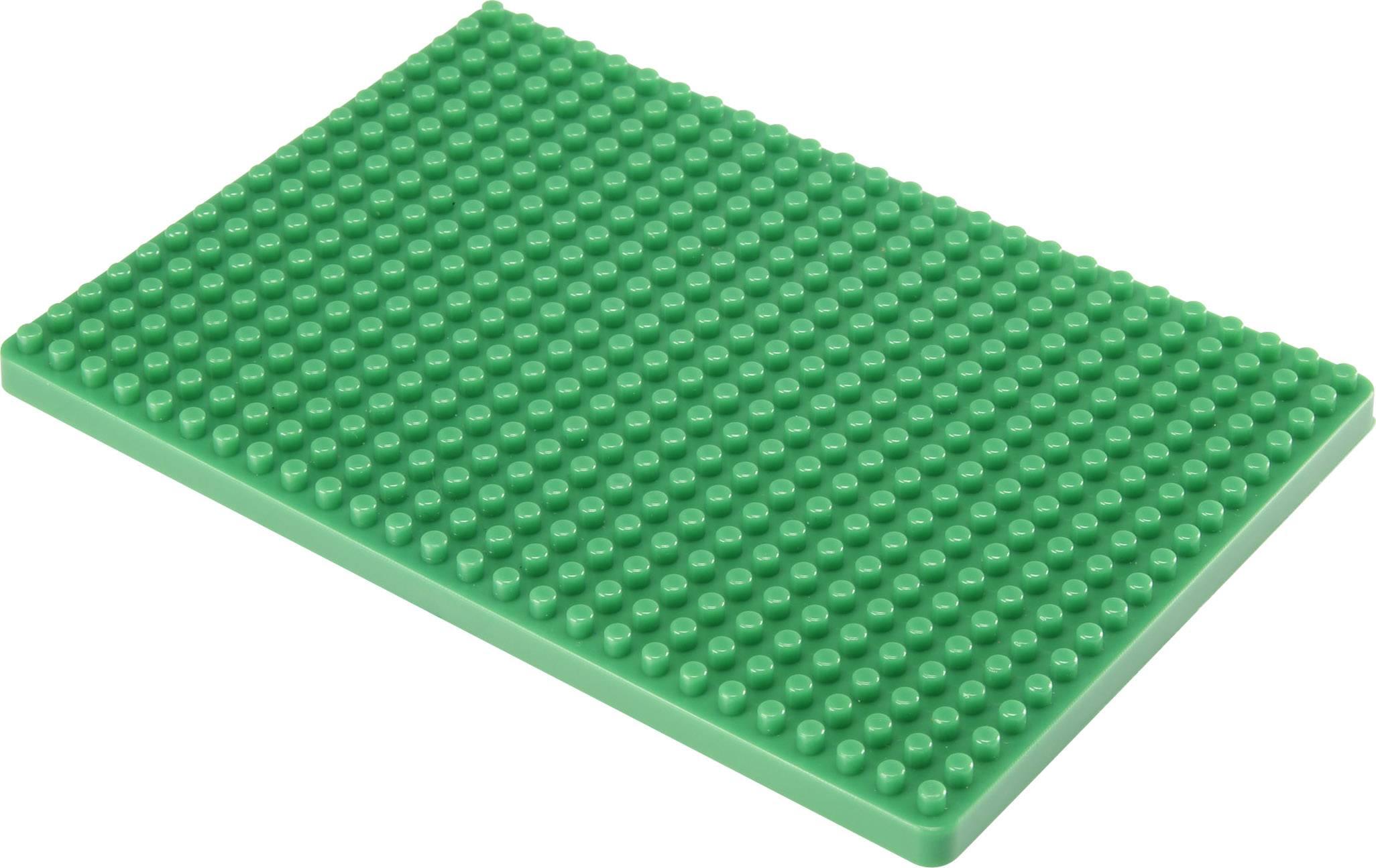 Montážní deska pro nepájivé kontaktní pole Conrad Components zelená, Počet pólů 468, (d x š) 132 mm x 92 mm, 1 ks