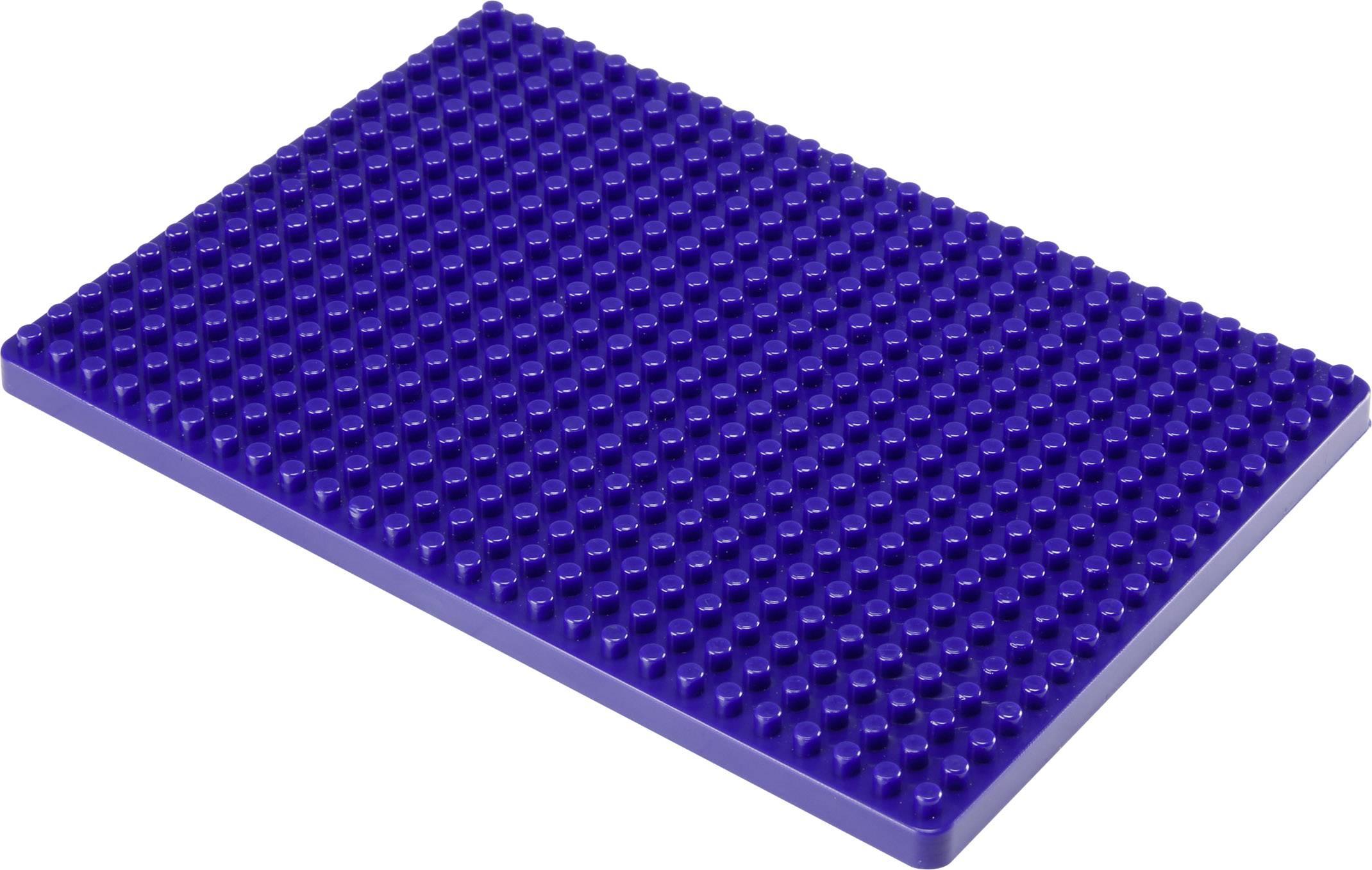 Montážní deska pro nepájivé kontaktní pole Conrad Components modrá, Počet pólů 468, (d x š) 132 mm x 92 mm, 1 ks