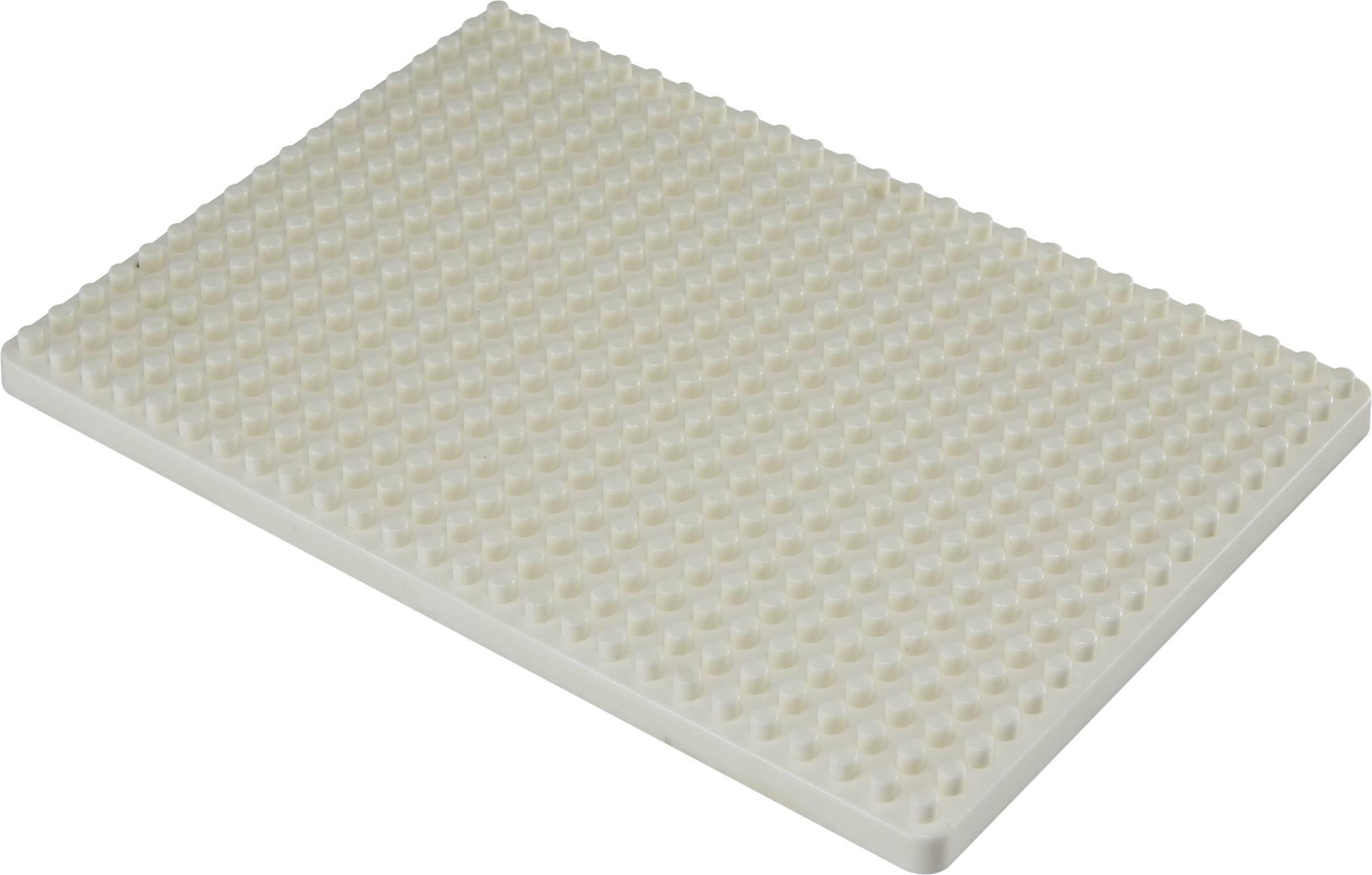 Montážní deska pro nepájivé kontaktní pole Conrad Components bílá, Počet pólů 468, (d x š) 132 mm x 92 mm, 1 ks