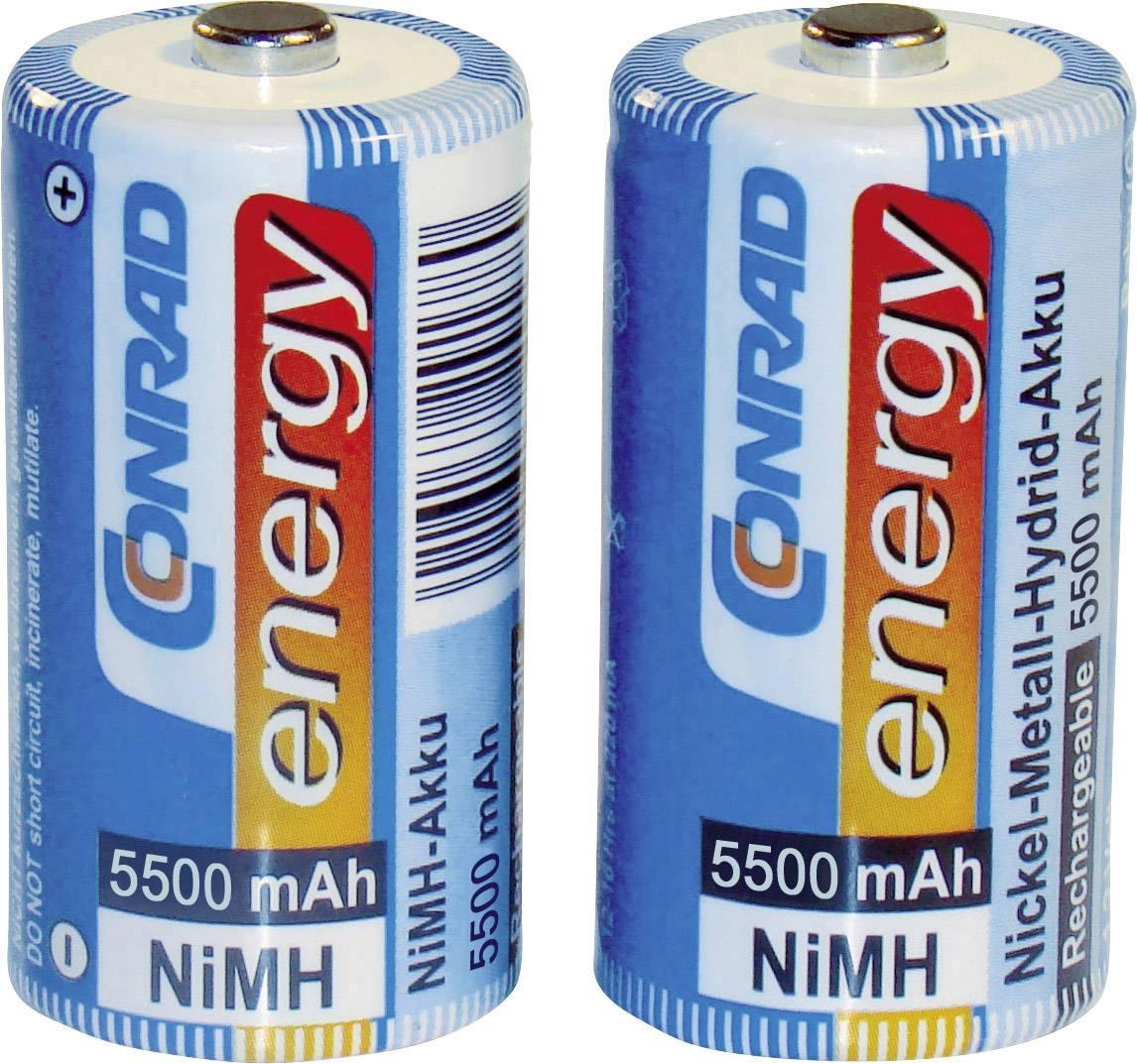Akumulátor typu C NiMH Conrad energy HR14 1371332, 5500 mAh, 1.2 V, 2 ks