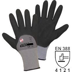 Pracovné rukavice L+D worky Nitril Double Grip 1168, velikost rukavic: 8, M