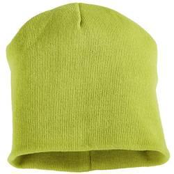 Pletená čepice L+D Profi-X Malte 40314, šedá, světle zelená